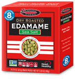 Seapoint Farms - Dry Roasted Edamame, Sea Salt (8 x 22.5 g) 脆豆 (8 包裝)