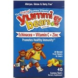 Hero Nutritionals - Yummi Bears Echinacea (40 bears) 熊仔紫錐花軟糖
