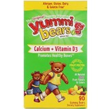 Hero Nutritionals - Yummi Bears Vegetarian Calcium + Vitamin D3 (90 bears) 熊仔鈣素食軟糖