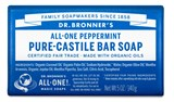 Dr. Bronner's - Organic Peppermint Bar Soap (5 oz) 公平貿易 有機 薄荷香皂