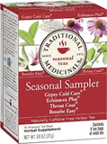 Traditional Medicinals - Cold Season Sampler Tea (16 bag) 感冒茶四寶