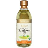 Spectrum Naturals - Organic High Heat Sunflower Oil, Refined (16 oz) 有機葵花籽油
