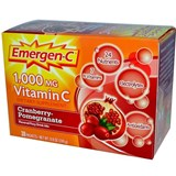 Alacer - Emergen C Cranberry Pomegranate (30 pks) 紅莓石榴維C飲