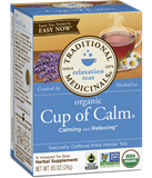 Traditional Medicinals - Organic Fair Trade Cup of Calm Tea (16 bag) 公平貿易有機減壓茶