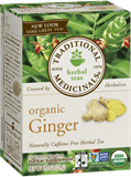 Traditional Medicinals - Organic Fair Trade Ginger Tea (16 bag) 公平貿易有機薑茶