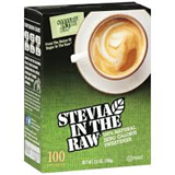 Stevia In The Raw - Zero Calorie (100 sachets) 甜菊糖 (天然代糖, 100包裝)