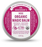 Dr. Bronner's - Organic Rose Body Balm (0.5 oz) 有機玫瑰護膚膏