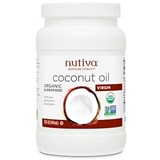 Nutiva - Organic Extra Virgin Coconut Oil (15 oz) 有機冷壓初榨椰子油