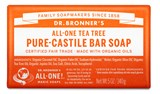 Dr. Bronner's - Organic Tea Tree Bar Soap (5 oz) 公平貿易 有機 茶樹香皂