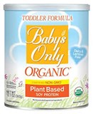 Baby's Only Organic® - Organic Soy Toddler Formula (12.7oz) 有機幼兒大豆奶粉