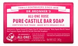 Dr. Bronner's - Organic Rose Bar Soap (5 oz) 公平貿易 有機 玫瑰香皂