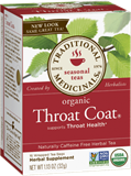 Traditional Medicinals - Organic Throat Coat Tea (16 bag) 有機草本潤喉茶