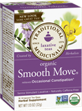 Traditional Medicinals - Organic Smooth Move® Tea (16 bag) 有機通便茶