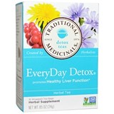 Traditional Medicinals - Everyday Detox Tea (16 bag) 有機護肝排毒茶