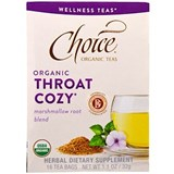 Choice - Organic Throat Cozy Tea (16 bag) 有機潤喉茶