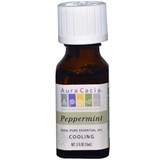 Aura Cacia – Peppermint Oil (0.5oz) 純簿荷精油