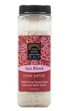 One With Nature - Spa Blend Rose Petal Dead Sea Mineral Bath Salt (32 oz) 玫瑰死海礦物浴鹽