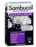 Sambucol - Black Elderberry Cold & Flu Relief (30 tab) 接骨木花 感冒配方 (美國版)
