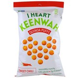 I Heart Keenwah – Quinoa Puffs, Sweet Chili (3 oz) 藜麦泡芙 (甜椒味)