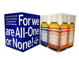 Dr. Bronner's - 2 oz Gift Box, BLUE  有机沐浴皂液礼盒 (BLUE)