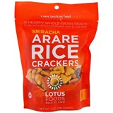 Lotus Foods - Arare Rice Crackers, Sriracha (5 oz) 健康脆米餅 (少辣)