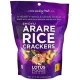 Lotus Foods - Arare Rice Crackers, Shoyu (5 oz) 健康脆米餅 (和風味)