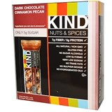 Kind - Dark Chocolate Cinnamon Pecan Bar (12 x 40 g)  純朱古力胡桃棒