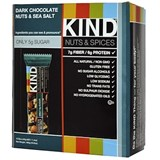 Kind - Dark Chocolate Nuts & Sea Salt Bar (12 x 40 g) 純朱古力果仁棒