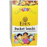 Eden Foods – Pocket Snacks, Wild Berry Mix, (12 bag x 1oz) 有機野莓乾果包