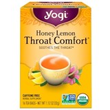 Yogi Tea – Throat Comfort Tea, Honey Lemon (16 bag) 蜂蜜檸檬潤喉茶