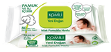 Komili - Wet Wipes for New Born (80 pcs) 濕紙巾