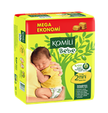 Komili - Bebe Twin Mini (3-6 kg) (42 pcs) 嬰兒尿片