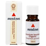 Meadows - Organic Geranium Bourbon Essential Oil (10 ml) 有機天竺葵精油