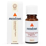 Meadows - Organic Cedarwood Atlas Essential Oil (10 ml) 有機雪松木精油
